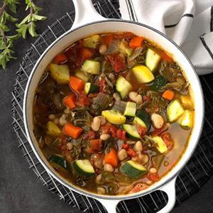 Swiss Chard Bean Soup Recipe