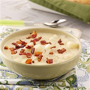 Swiss Potato Soup Recipe