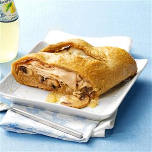 Swiss Turkey Stromboli Recipe