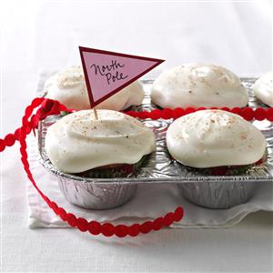 Yuletide Eggnog Cupcakes Recipe