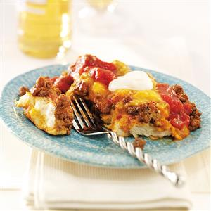 Taco Biscuit Bake Recipe