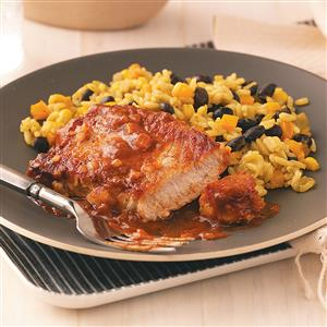 Taco Pork Chops Recipe