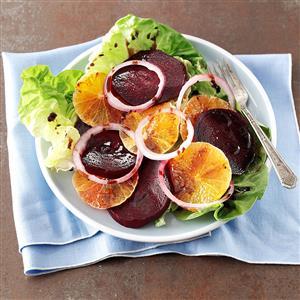 Tangerine & Roasted Beet Salad Recipe