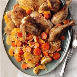 Tangerine Chicken Tagine Recipe