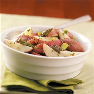 Tangy Asparagus Potato Salad Recipe