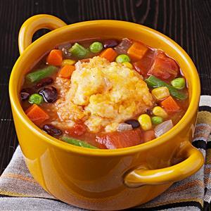 Tangy Bean Soup Recipe