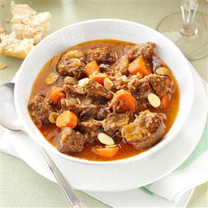 Tangy Lamb Tagine Recipe