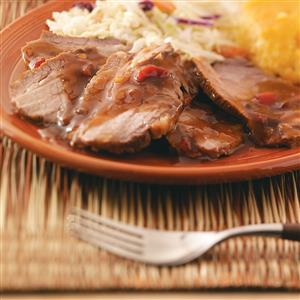 Tangy Tender Beef Brisket Recipe