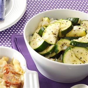 Tangy Zucchini Saute Recipe