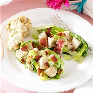 Tarragon Chicken & Romaine Salad Recipe