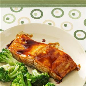 Tasty Maple Glazed Salmon Recipe