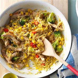 Tasty Turkey Skillet Recipe