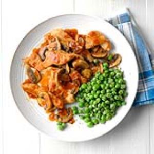 Tasty Turkey and Mushrooms