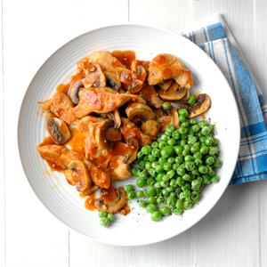 Tasty Turkey and Mushrooms Recipe