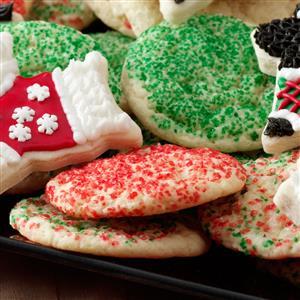 Tender Sugar Cookies Recipe