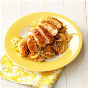 Teriyaki Chicken and Vegetables Recipe