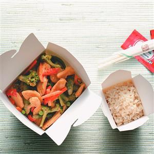 Thai Chicken Stir-Fry for Two Recipe