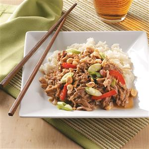 Thai-Style Peanut Pork Recipe