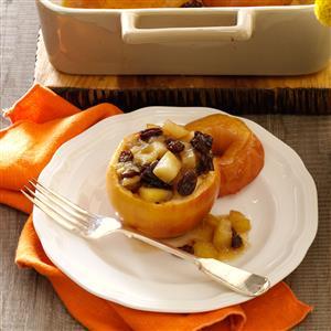 Thanksgiving Baked Apples Recipe