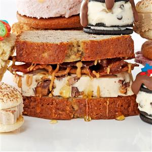 The Elvis Ice Cream Sandwich Recipe