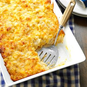 Three-Cheese Hash Brown Bake Recipe