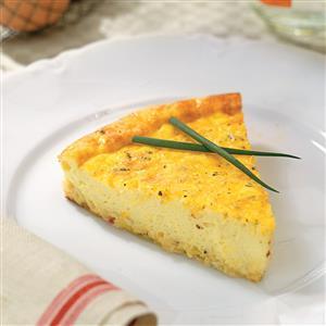Three-Cheese Quiche Recipe