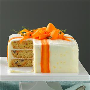 Three Layered Carrot Cake Recipe