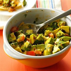 Three-Pepper Guacamole Recipe