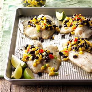 Tilapia with Corn Salsa Recipe