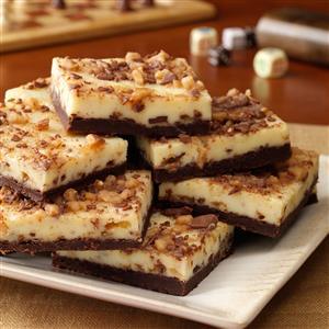 Toffee Cheesecake Bars Recipe