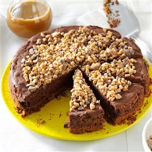 Toffee Truffle Cheesecake Recipe