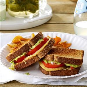 Tomato & Avocado Sandwiches Recipe