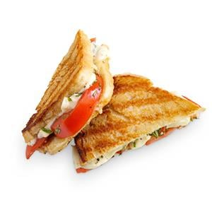 Tomato-Basil Grilled Cheese Recipe