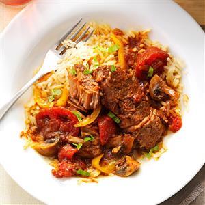 Tomato-Basil Steak Recipe