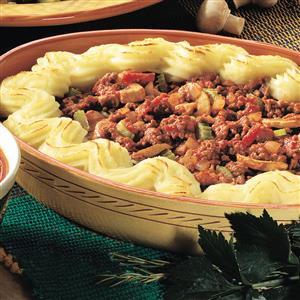 Tomato Beef Shepherd's Pie Recipe