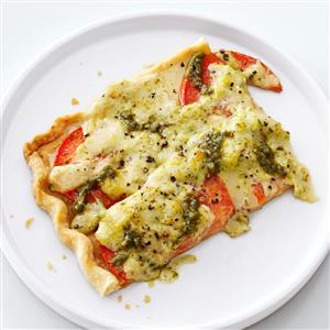 Tomato Pesto Tart Recipe