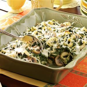 Tortellini Spinach Casserole Recipe