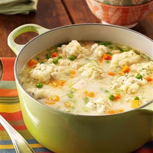 Traditional Chicken Dumpling Soup Recipe