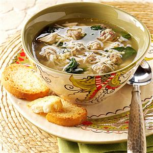 Traditional Italian Wedding Soup Recipe