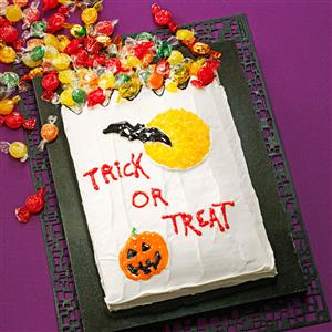 Trick-or-Treat Cake Recipe