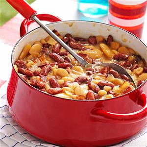 Triple Bean Bake with Bacon Recipe