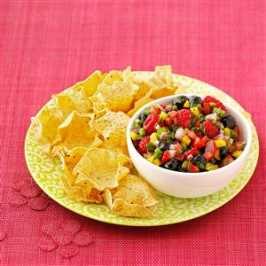 Triple Berry Salsa Recipe