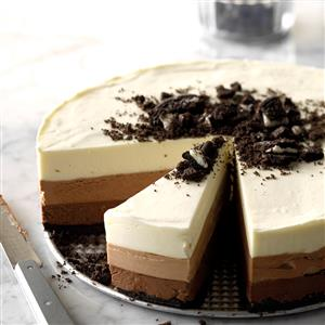 Triple Chocolate Mousse Torte Recipe