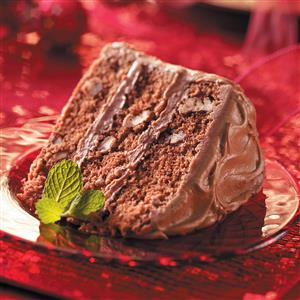 Triple-Layer Chocolate Cake Recipe