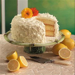 Triple-Layer Lemon Cake Recipe
