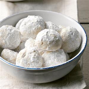 Triple Nut Snowballs Recipe