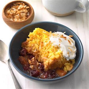 Tropical Cranberry Cobbler Recipe