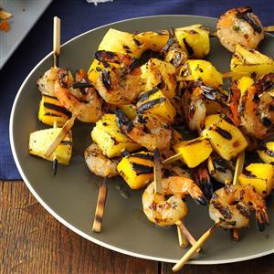 Tropical Island Shrimp Kabobs Recipe