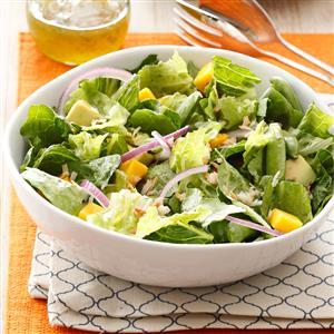 Tropical Snap Pea & Mango Salad Recipe