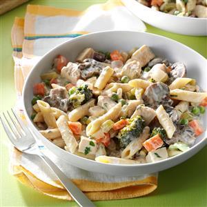 Turkey & Vegetable Pasta Recipe